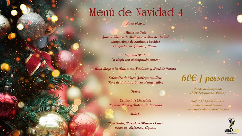 Christmas Day at Midas Restaurant