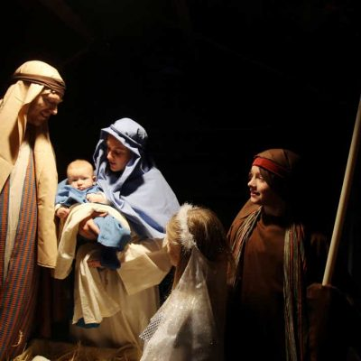 Live Nativity Scene San Roque